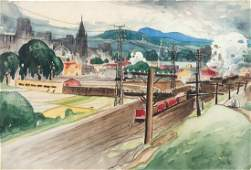 MarcAurele Fortin Canadian 18881970 View of