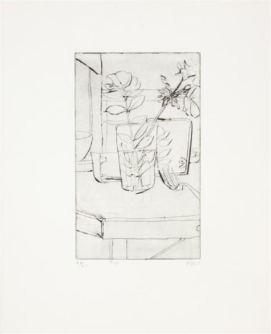 Richard Diebenkorn, (American, 1922-1993), #10, 1965