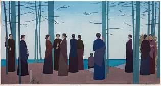 Will Barnet, (American, 1911-2012), Spring Morning,