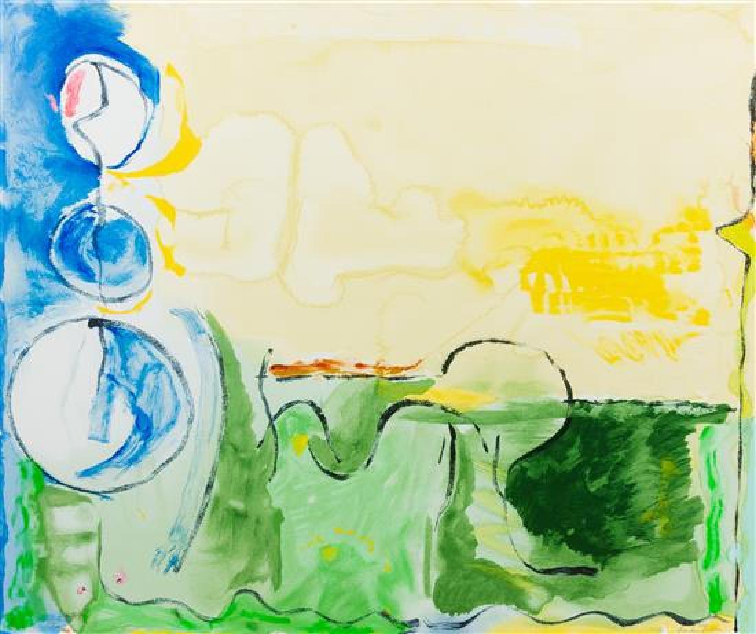 Helen Frankenthaler, (American, 1928-2011), Flotilla,