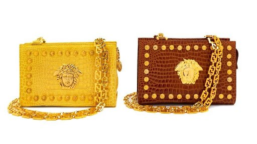 02bec043fc Two Gianni Versace Couture Handbags, 1990s - Apr 08, 2019   Hindman ...