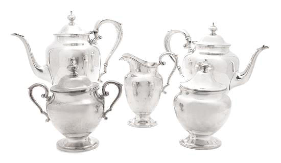 An American Silver Coffee and Tea Set