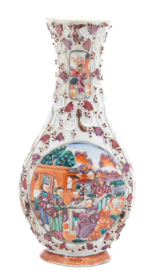 A Chinese Export Porcelain Vase - 2