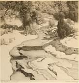 E. Martin Hennings 10 x 10 inches
