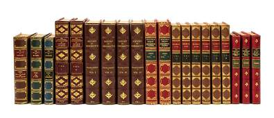 BINDINGS A group of 8 works finely bound
