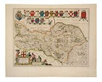 BLAEU Joan 15961673 Ducatus Eboracensis pars