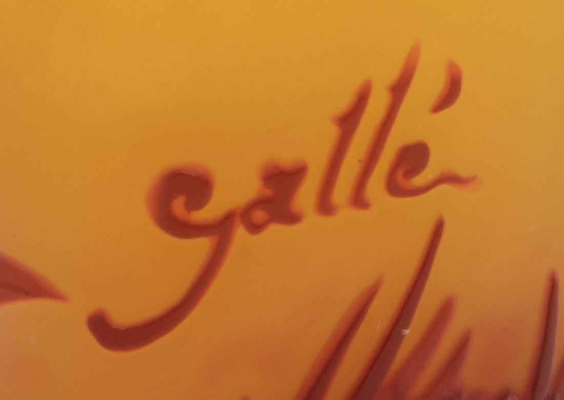Emile Galle, (French, 1846-1904), Cameo Vase - 2