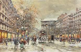 Antoine Blanchard, (French, 1910-1988), Boulevard de la