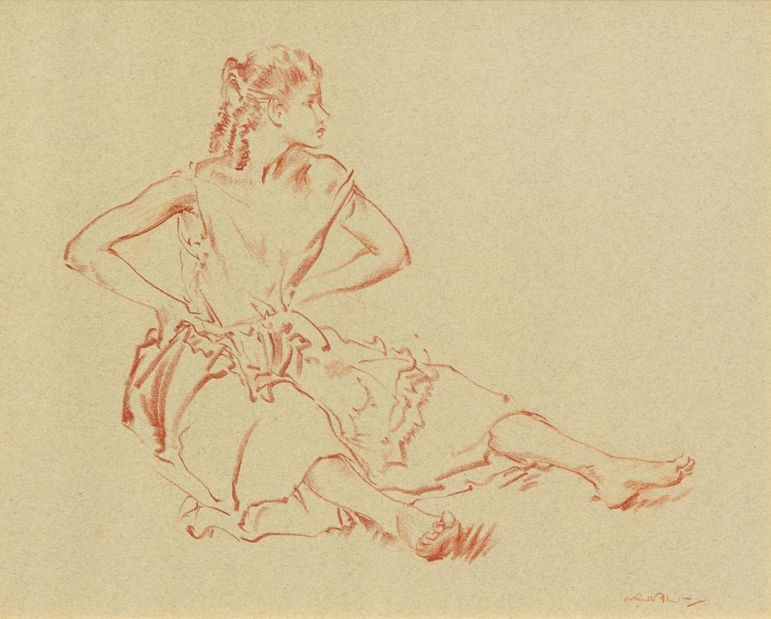 William Russell Flint, (Scottish, 1880-1969), Alice