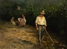 Léon-Augustin Lhermitte, (French, 1844-1925), Environs