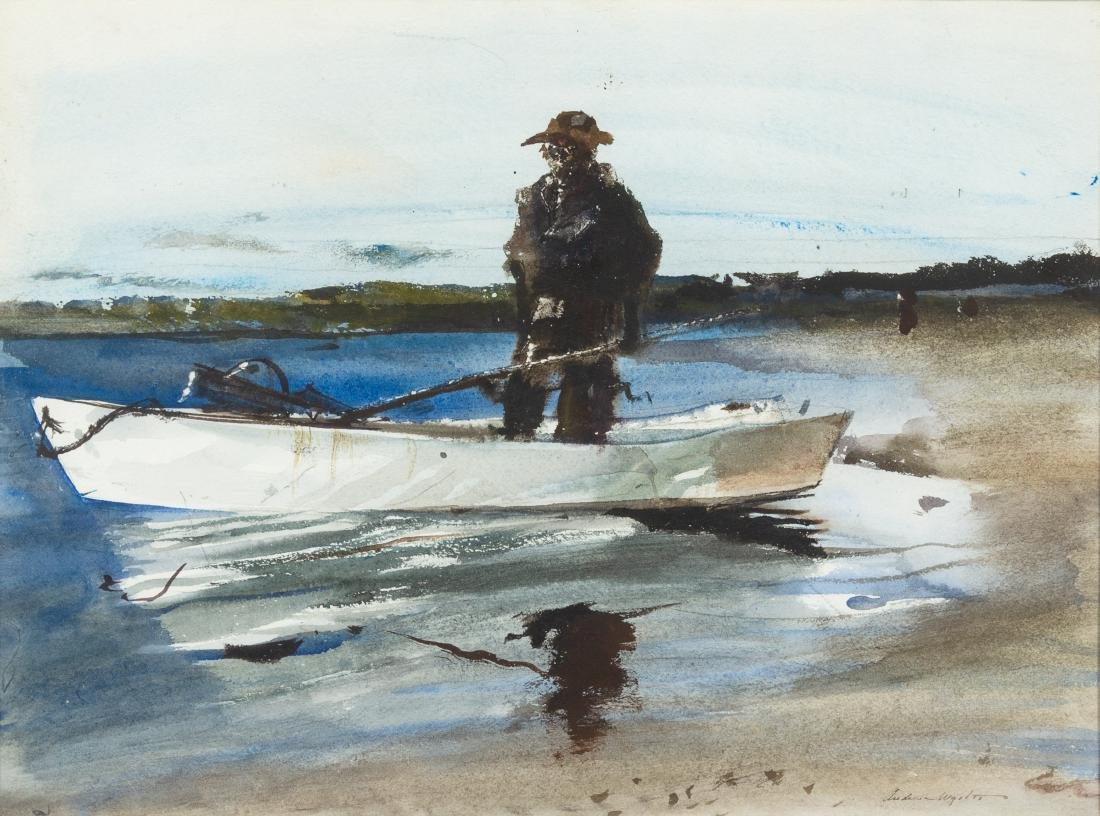 Andrew Newell Wyeth, (American, 1907-2009), The