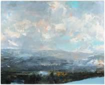 Eric Aho, (American, b. 1966), Blue Ramsay Slope