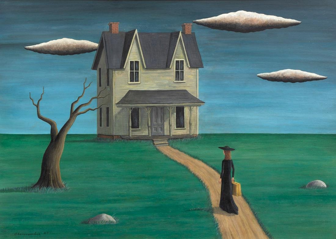 Gertrude Abercrombie, (American, 1909-1977), Coming