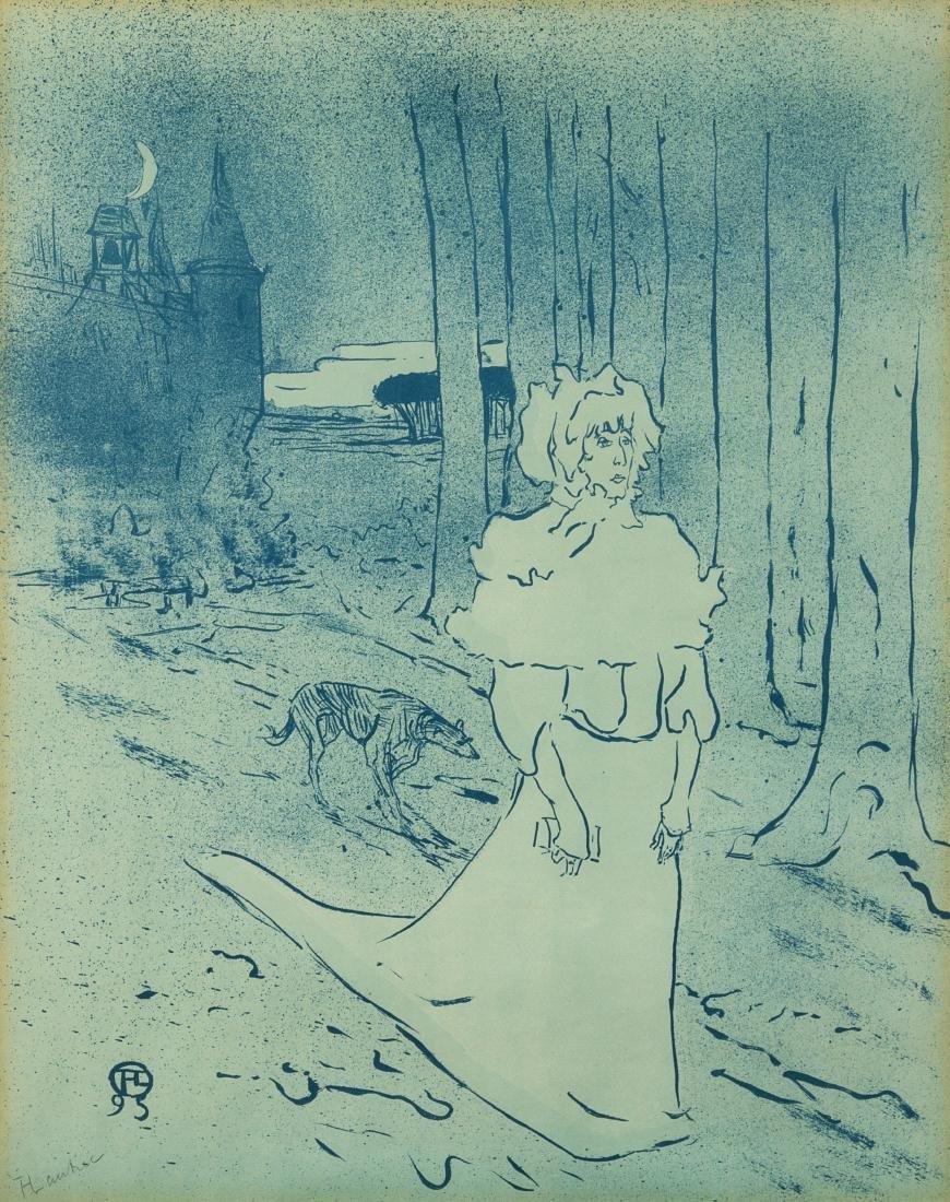 * Henri de Toulouse-Lautrec, (French, 1864-1901), La