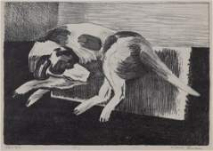 Walt Francis Kuhn American 18771949 Dog