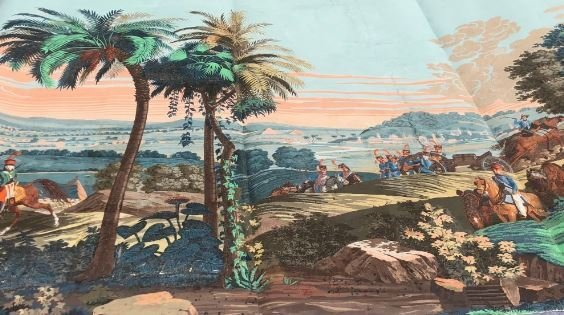 The Battle of Heliopolis Wall Panels