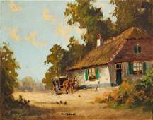 Waterman, (English, 19th/20th Century), Thatched