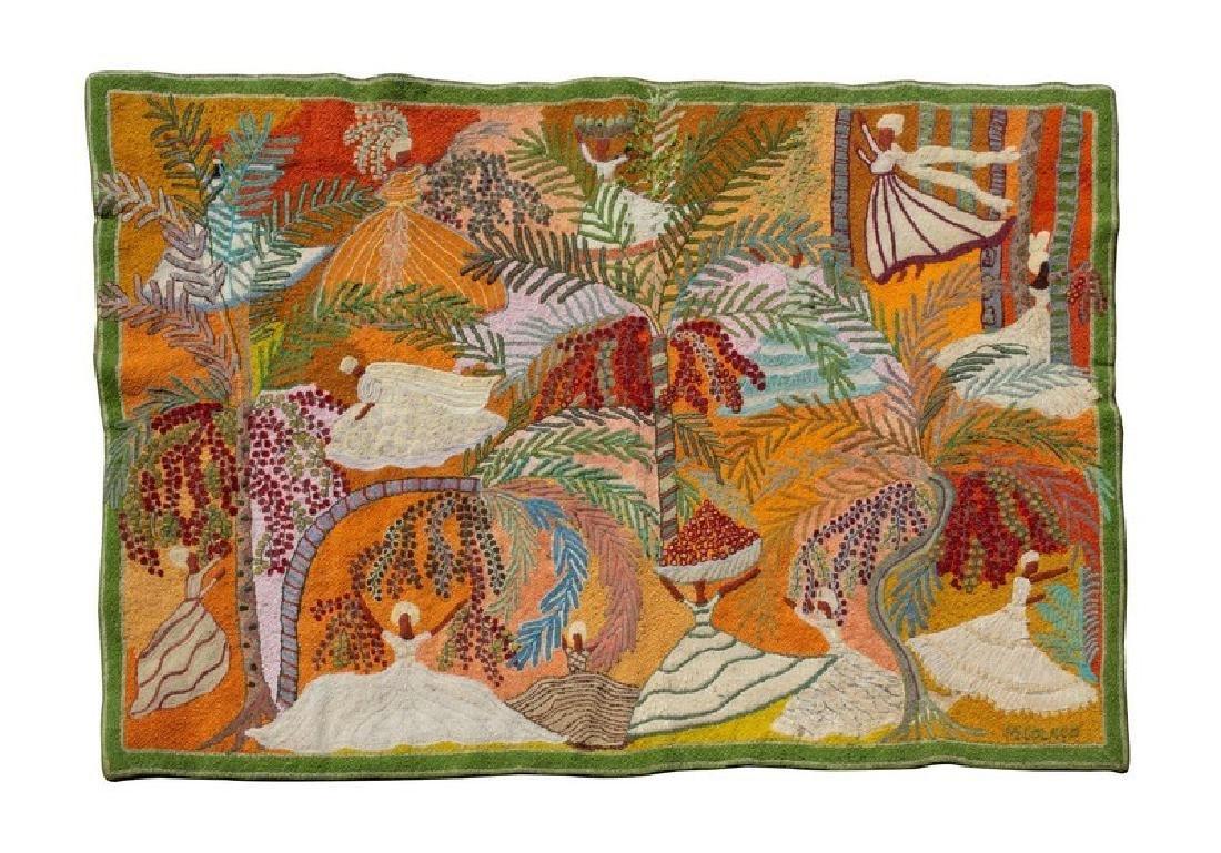 A Caribbean Needlework Tapestry