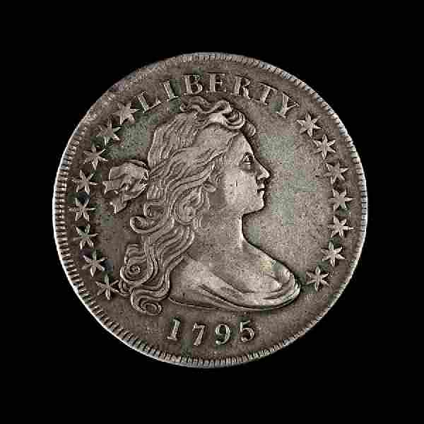 A United States 1795 Draped Bust: Type I $1 Coin