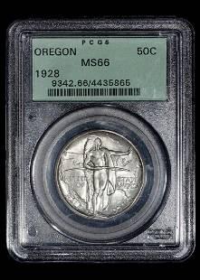 A United States 1928 Oregon Commemorative 50c Coin
