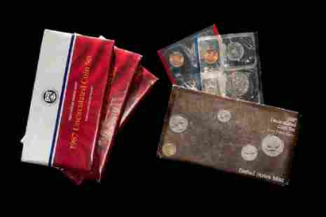A Collection of Twelve United States PD Uncirculated