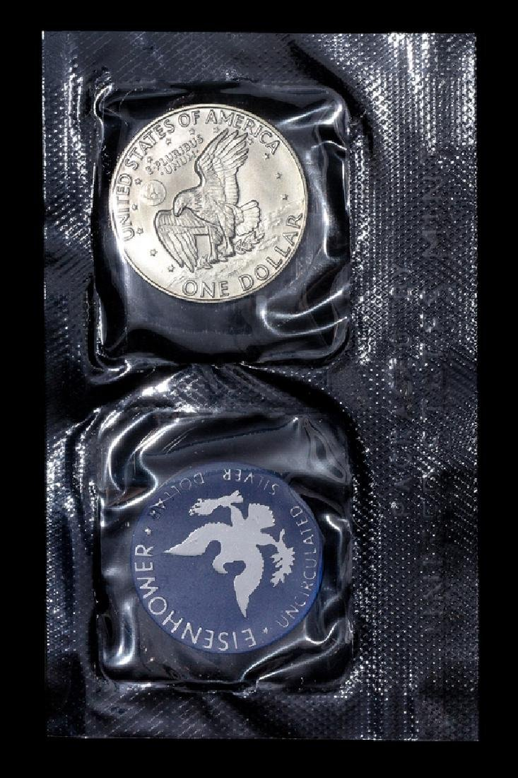 *A Group of Five United StatesEisenhower Silver