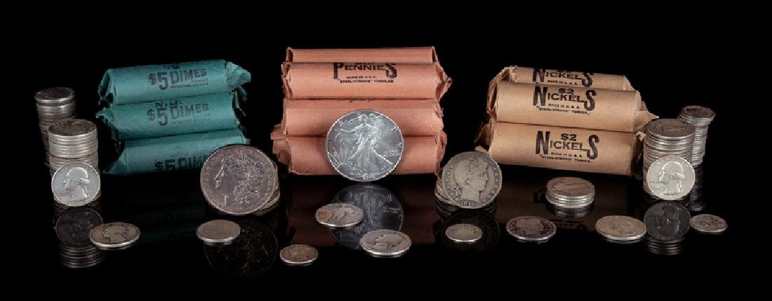 *A Large Collection of United States Coins comprising