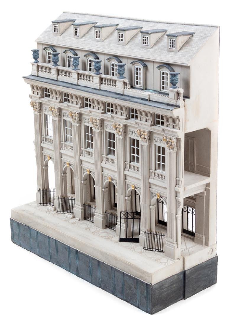 A Painted Composite Architectural Model, Timothy