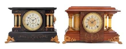 Two American Mantel Clocks SETH THOMAS, 20TH