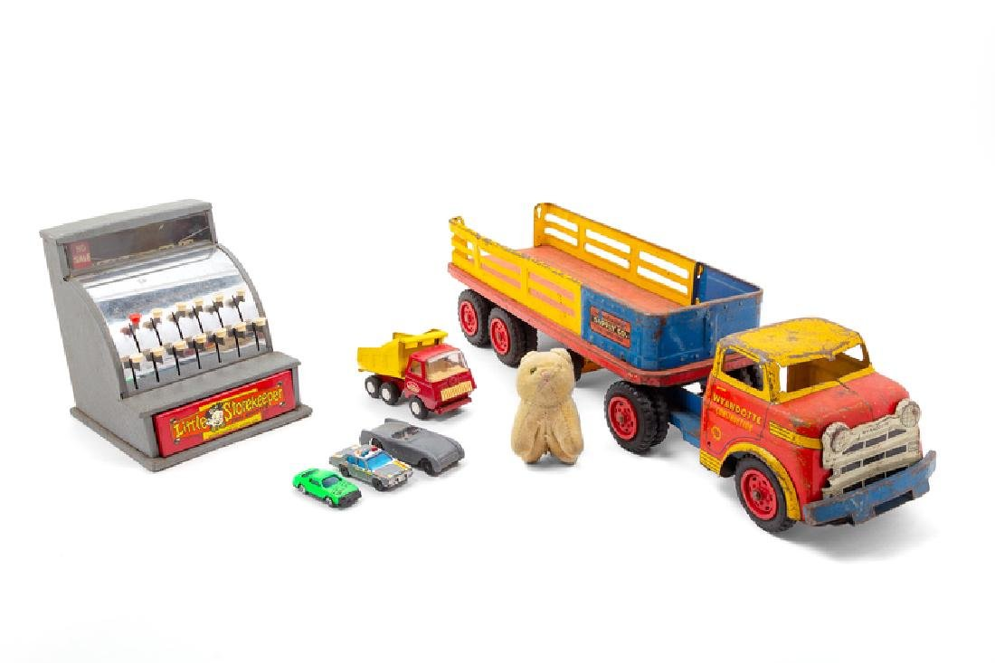 A Group of Vintage Toys MID 20TH CENTURY