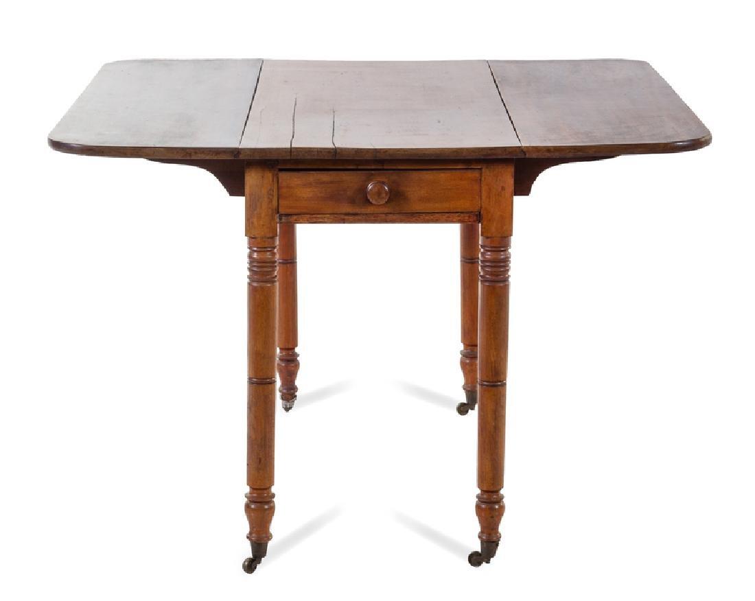 An American Drop Leaf Table 19TH CENTURY