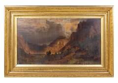 Albert BierstadtAmerican 18301902Storm in the Rocky
