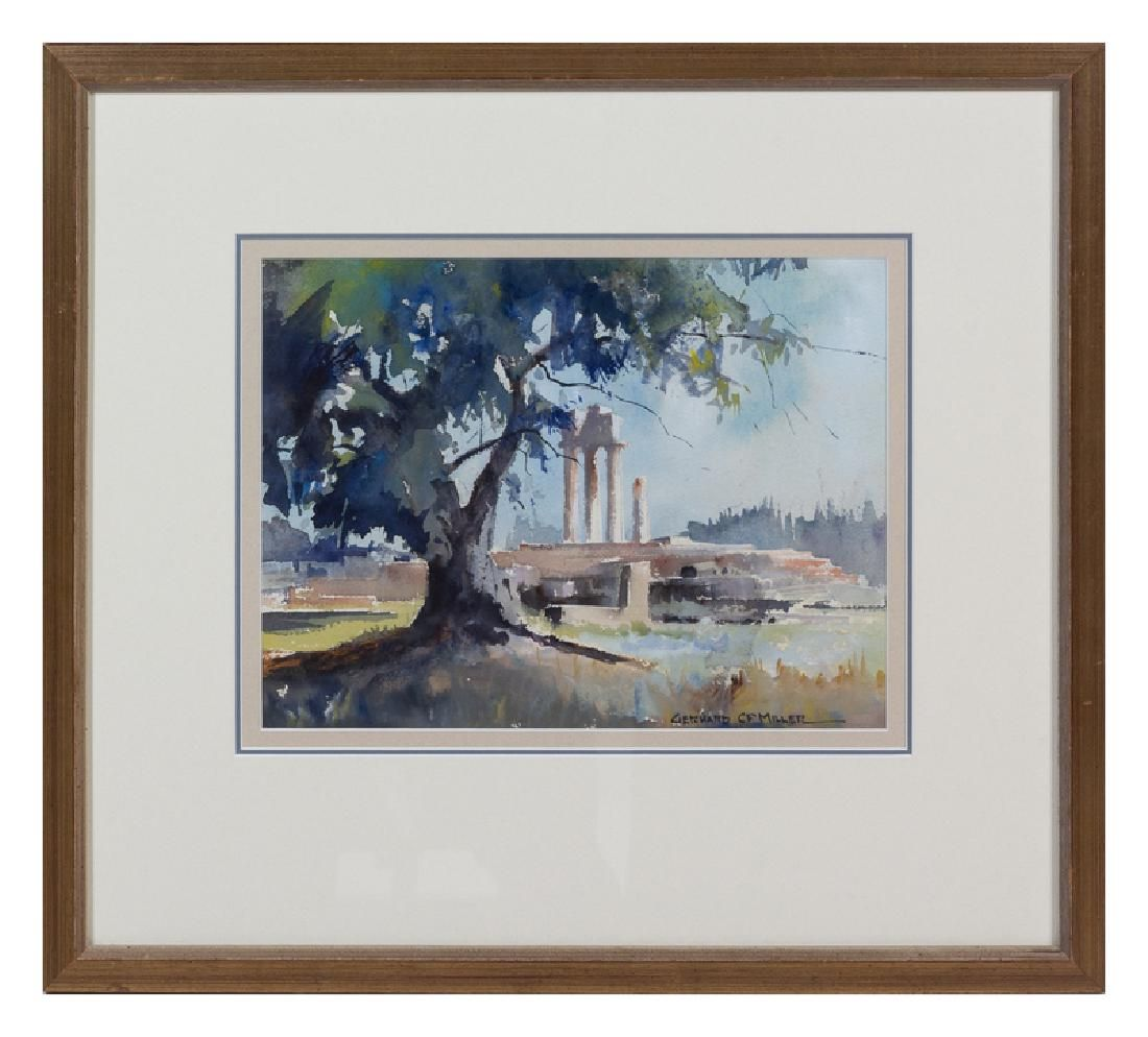 Gerhard C F Miller(American, 1903-2003)Temple of Apollo
