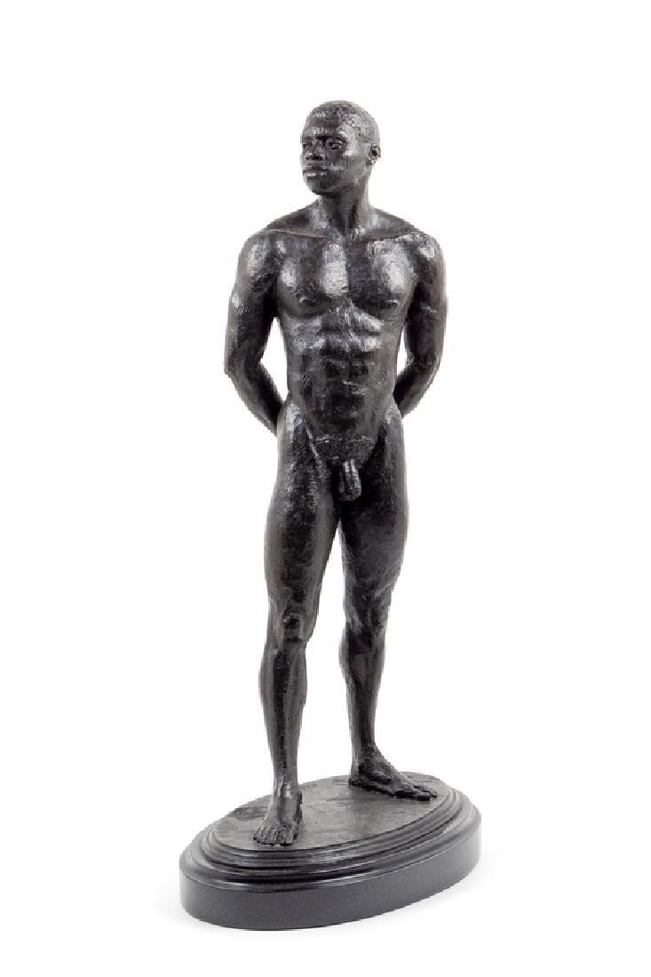 Judy Onder(20th century)Cuffed bronzeHeight 30