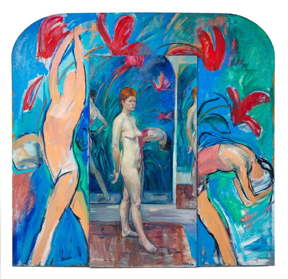 Michael Mazur (American, b. 1935) Two Paintings,1982