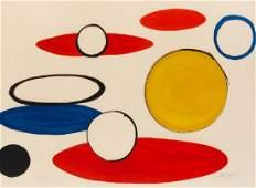 Alexander Calder (American, 1898-1976) White Circles