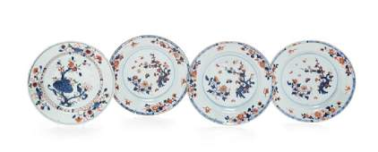 Four Chinese Export Porcelai