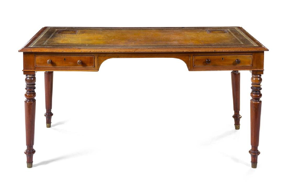 *A William IV Style Mahogany Writing Desk