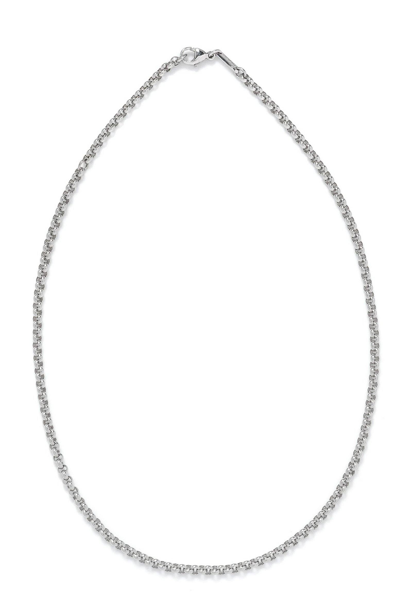An 18 Karat White Gold Cable Link Necklace, Chopard,
