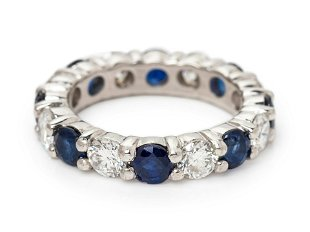 An Important Edwardian Yogo Gulch Montana Sapphire and - Aug