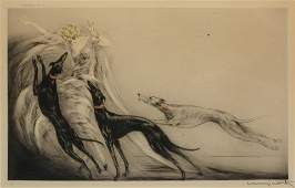 Louis Icart (French, 1888-1950) Coursing II, 1929