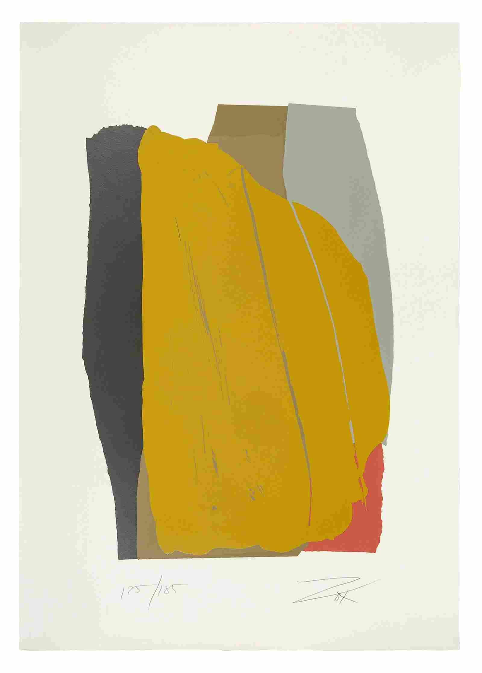Larry Zox (American, 1937-2006) Odon II, 1981 ser