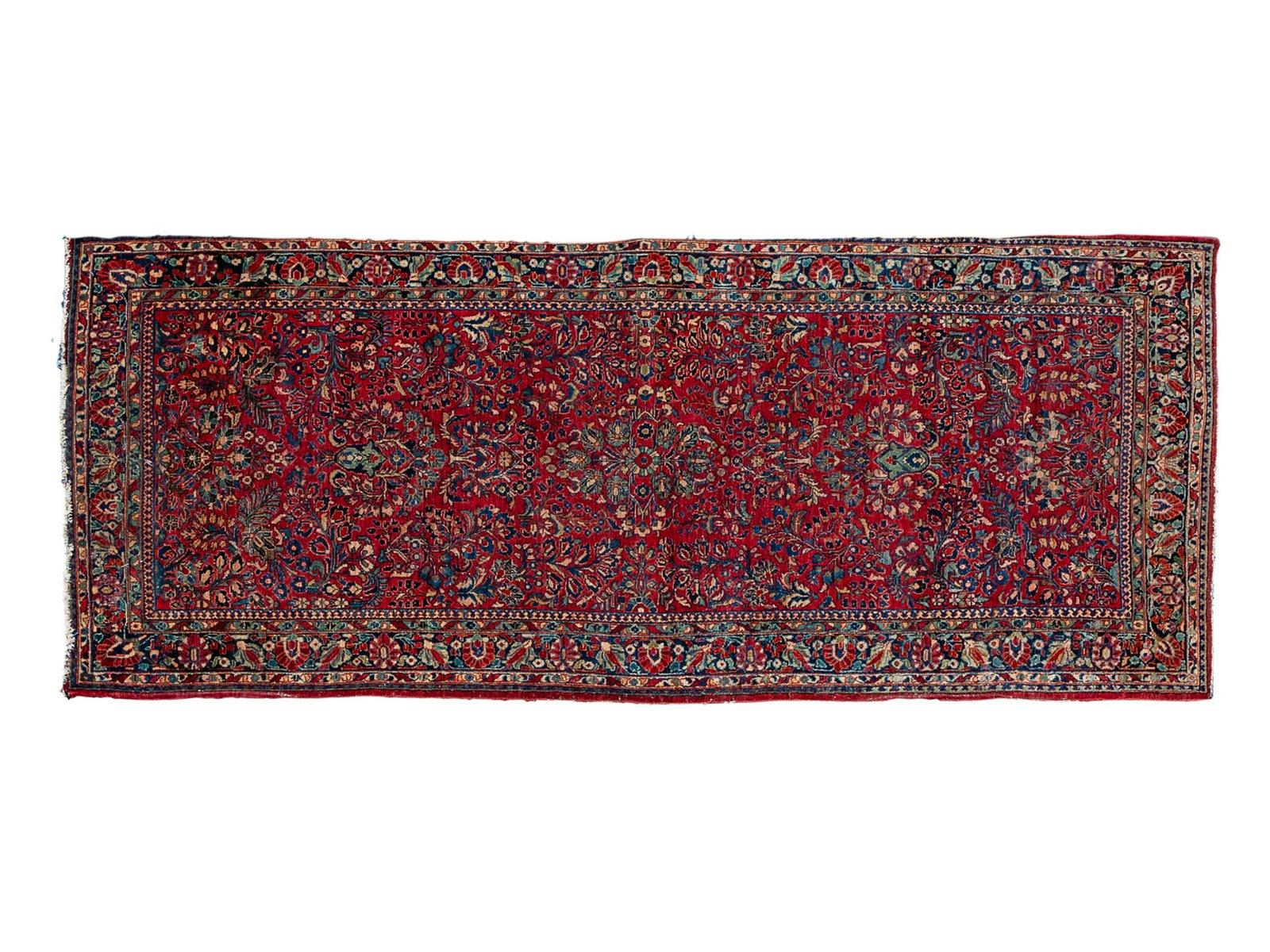A Sarouk Wool Runner