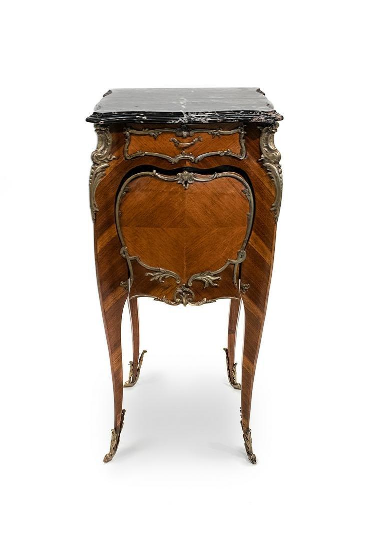 A Louis XV Style Gilt-Bronze-Mounted Kingwood Humidor