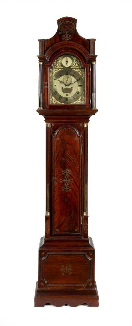 A George III Mahogany Longcase Clock