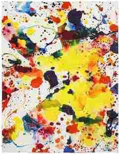 Sam Francis (American, 1923-1994) Untitled (SF73-157),