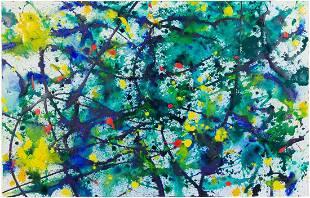 Sam Francis (American, 1923-1994) Untitled (SF88-449),