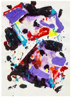 Sam Francis (American, 1923-1994) Untitled (SF82-254),