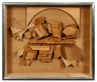 Louise Nevelson (American, 1899-1988) Untitled