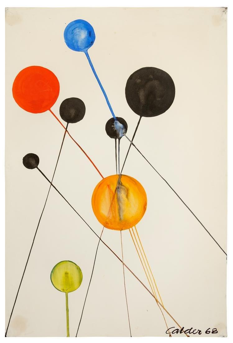 Alexander Calder (American, 1898-1976) Untitled, 1968